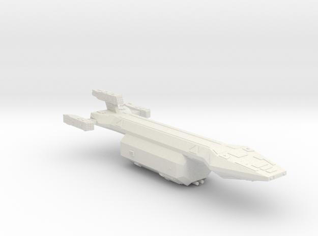 3125 Scale Hydran Caravan Battle Tug CVN in White Natural Versatile Plastic