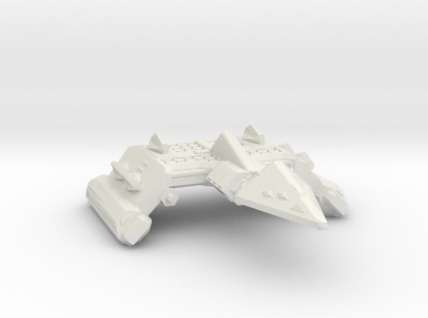 3788 Scale Neo-Tholian Battleship (NBB) SRZ in White Natural Versatile Plastic