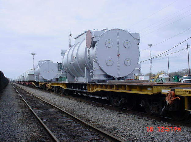 Flat Car Load Power Unit