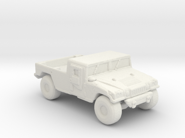 M1038 up armored 220 scale in White Natural Versatile Plastic