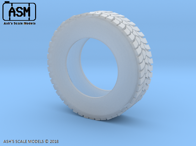 1/25 MC3 HRV & UNIMOG TYRE in Smooth Fine Detail Plastic