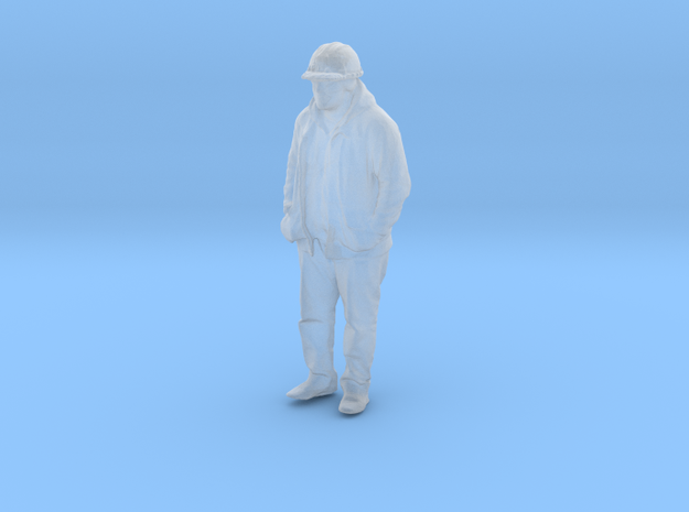 Printle B Homme 1598 - 1/72 - wob in Smooth Fine Detail Plastic