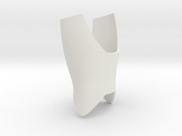 Iron Man mkIII - Forearm-04 in White Natural Versatile Plastic