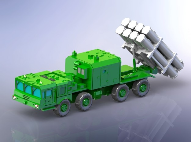 Russian BAL-E Coastal Missile System on MZKT 1/160 in Smooth Fine Detail Plastic