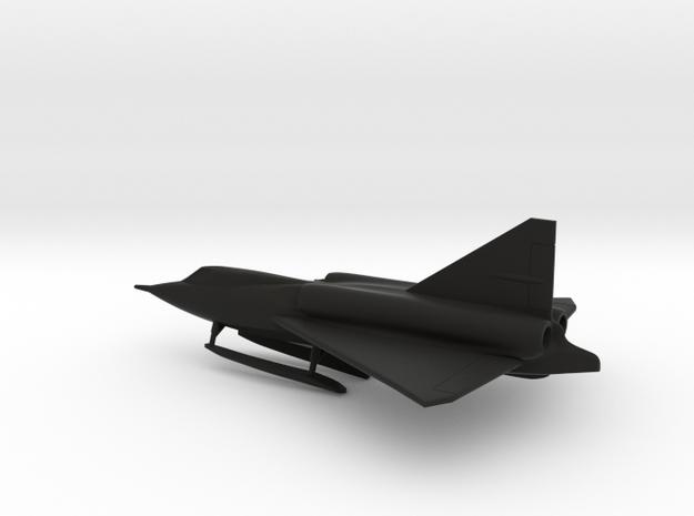 Convair XF2Y Sea Dart in Black Natural Versatile Plastic: 1:200