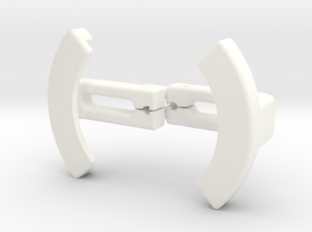 Wayne's screen gripper  in White Processed Versatile Plastic