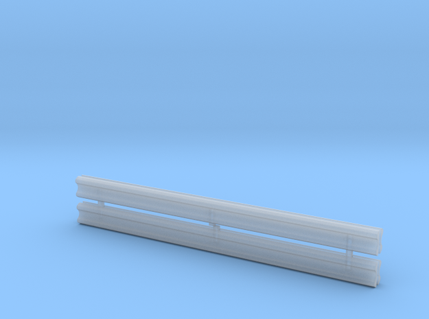 1/64 Guard rail in Smooth Fine Detail Plastic