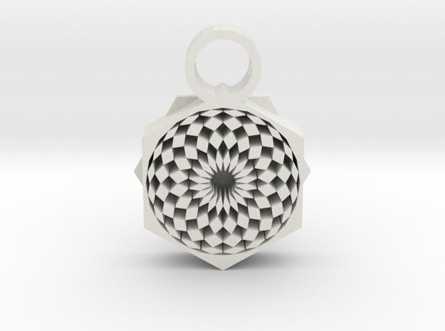 tribal eye 2 in White Premium Versatile Plastic