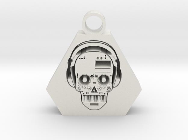 DJ pendant 2 in White Premium Versatile Plastic