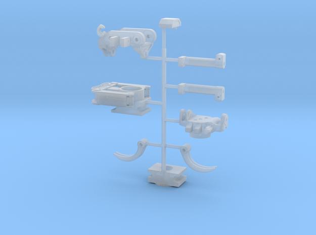 Kit X18 directfit met grijper en gewoon in Smooth Fine Detail Plastic