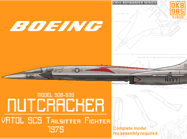 "Boeing Model 908-535 ""Nutcracker"" VATOL Fighter"