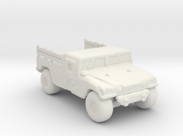 M1038A1 up armored 220 scale in White Natural Versatile Plastic