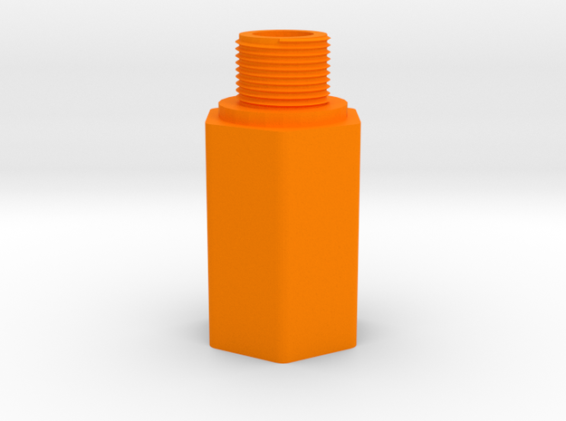 HK 3 Lug to 14mm- Barrel Adapter for MP5, MP5K, G3 in Orange Processed Versatile Plastic
