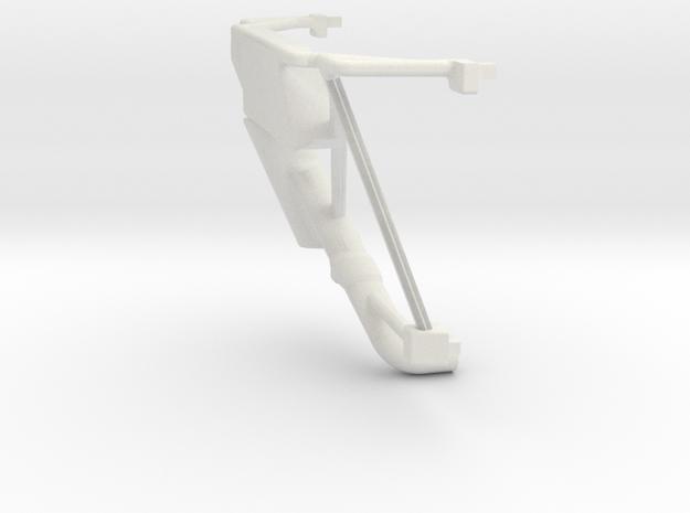 S05-SA2 Roll Cage for Scalextric Lancia Delta S4 in White Natural Versatile Plastic