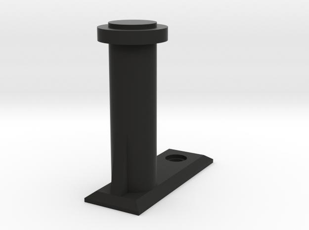 Pistol Wall Mount in Black Premium Versatile Plastic
