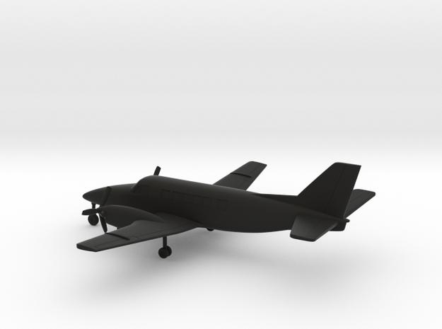 Beechcraft Model 99 Airliner in Black Natural Versatile Plastic: 1:160 - N