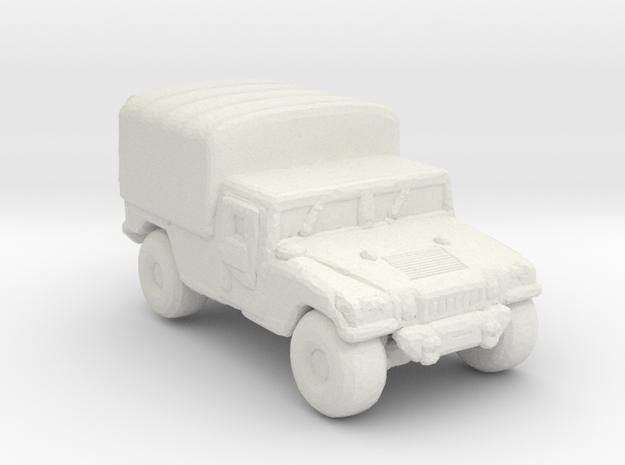 M1038a1 Cargo 285  scale in White Natural Versatile Plastic