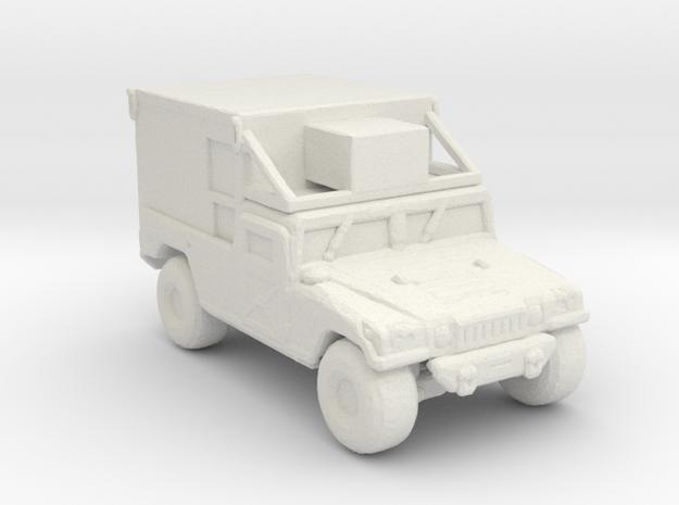 M1097a2-S788 220 scale in White Natural Versatile Plastic