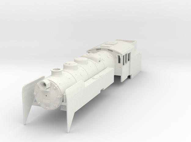 Pr2 hiilikäyttöinen H0 in White Natural Versatile Plastic