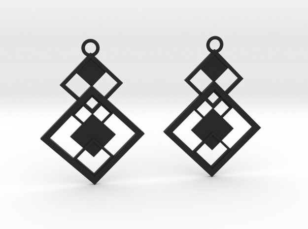 Geometrical earrings no.7