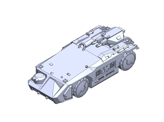 scifi APC-M577 in Smoothest Fine Detail Plastic: 1:200