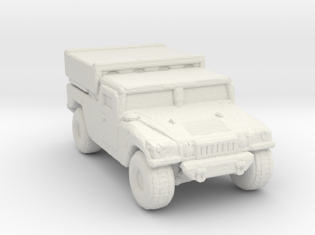 M1097a2 EFOGM 285 scale in White Natural Versatile Plastic