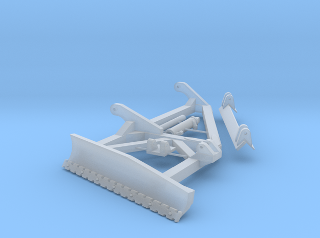 Slope blade for D8T  in Smooth Fine Detail Plastic