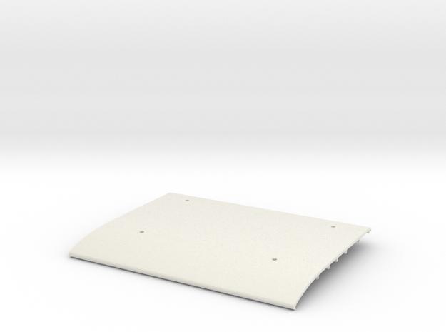 Tamiya Blazing Blazer Main Roof Panel  in White Natural Versatile Plastic