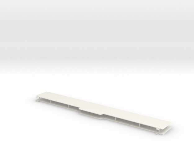 Walthers Pullman standard BI level coach sides- Bl in White Natural Versatile Plastic