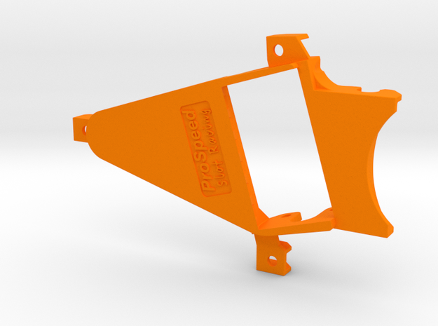 PSNS00101 motor mount for NSR chassis (Flat6) in Orange Processed Versatile Plastic