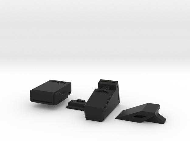 Assorted Gribble - 1 in Black Natural Versatile Plastic