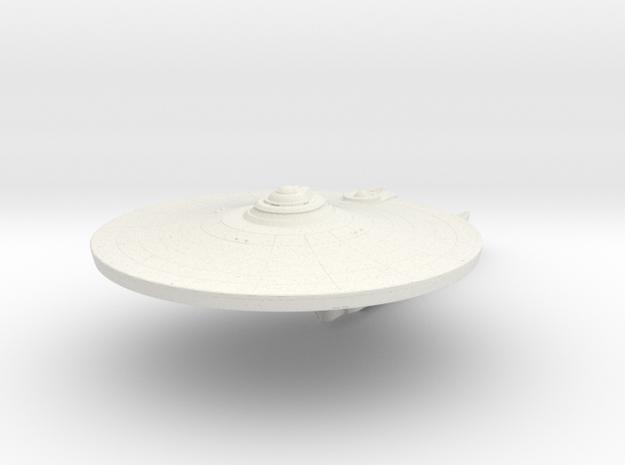 2500 Serenity class in White Natural Versatile Plastic