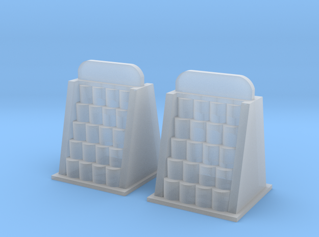 Oil Can Racks in Smooth Fine Detail Plastic: 1:64 - S