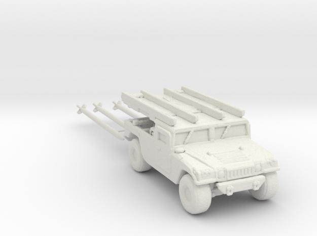 M1097a2 AIM-120B 220 scale in White Natural Versatile Plastic