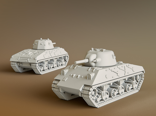 DL43 Nahuel Tank Scale: 1:100 in Smooth Fine Detail Plastic