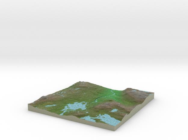 Terrafab generated model Mon Jan 29 2018 21:48:00  in Natural Full Color Sandstone