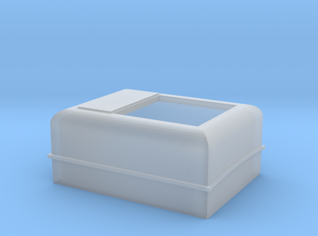 CPR F Unit Winter Hatch in Smoothest Fine Detail Plastic