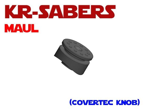 KR-OR Darth Maul - Covertec Knob in Black PA12