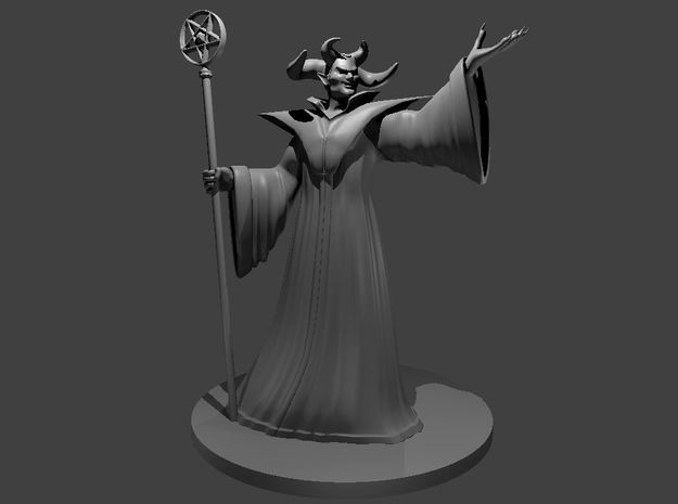 Asmodeus in Smooth Fine Detail Plastic