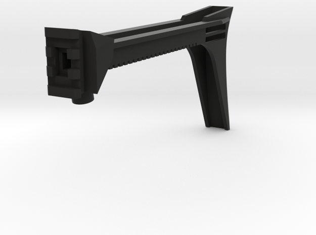 Anarchy Hybrid Shoulder Stock in Black Natural Versatile Plastic