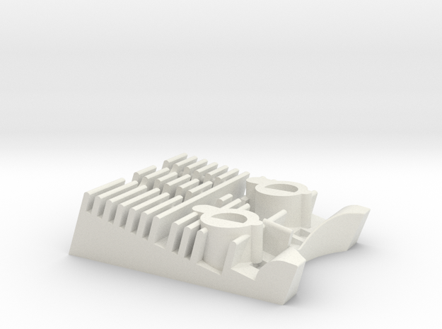 Debgar Engine in White Natural Versatile Plastic