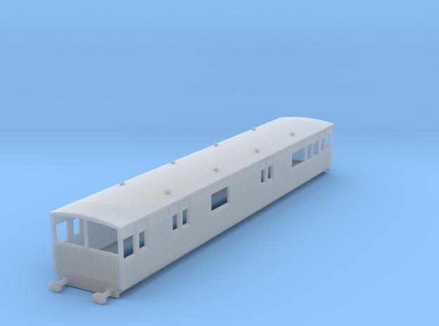 o-148fs-lyr-electric-baggage-car-3028 in Smooth Fine Detail Plastic