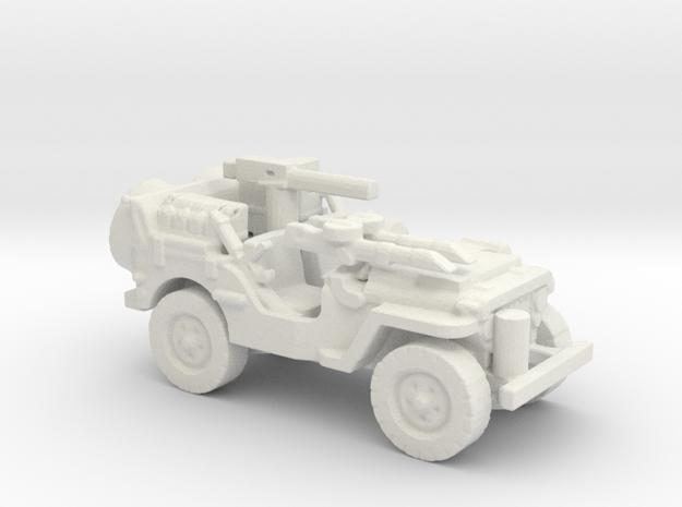 1/100 SAS Jeep ww2   3 in White Natural Versatile Plastic