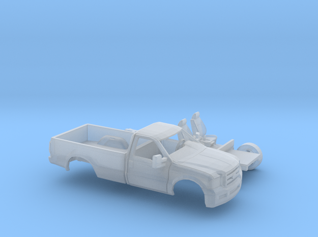 1/160 2005-07 Ford FSeries RegCab LongBed Kit in Smooth Fine Detail Plastic