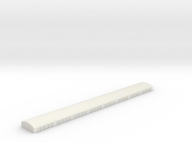 Gardermoen GSE Garage in White Natural Versatile Plastic: 1:700