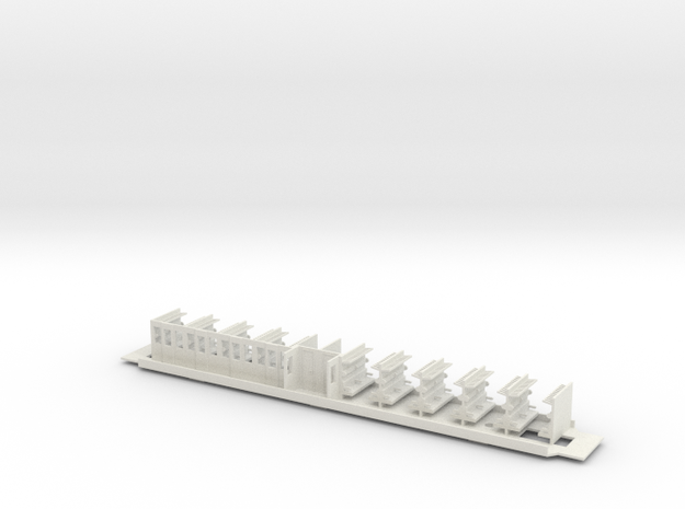 #30B N28 50 81 29-04 144 Innenausbau in White Natural Versatile Plastic