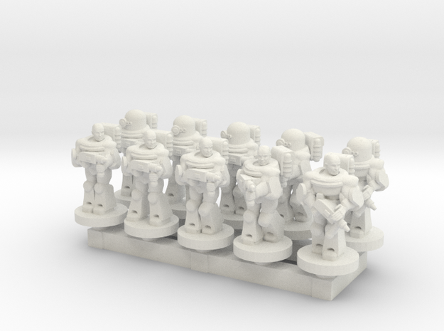 Space Army 10mm Set 1