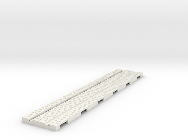 p-165-straight-long-tram-track in White Natural Versatile Plastic