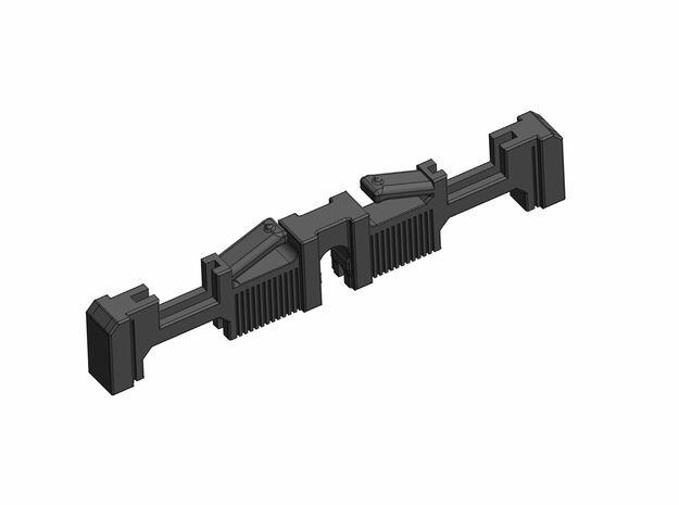 Luke V3 (R.Pando) - Clamp Switches Holder in White Natural Versatile Plastic