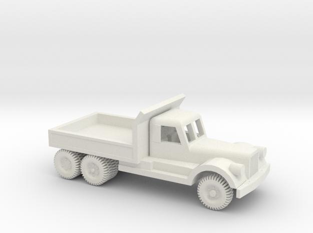 1/64 ScaleDiamond T Dump Truck in White Natural Versatile Plastic